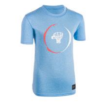 TARMAK Detské Tričko Ts500 Modré