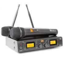 Power Dynamics PD781, bezdrôtový 2 x 8-kanálový UHF mikrofónový systém