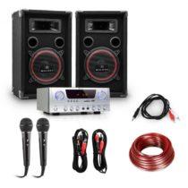 Electronic-Star DJ set EASY, zosilňovač, reproduktory, 1000 W