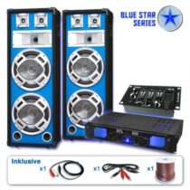 Electronic-Star Ozvučovací set Blue Star Series Bassveteran USB, 1200 W