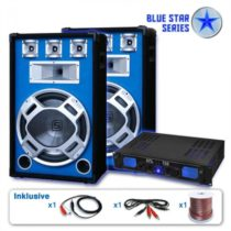 "Skytronic PA set Blue Star Series""Beatstar"", 2000 W"