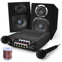 "Electronic-Star Karaoke set ""Pony´s Ranch"" reproduktory & mikrofón"