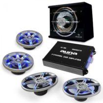 Electronic-Star Auto hi-fi setBeatPilot FX-413, reproduktory, zosilňovač