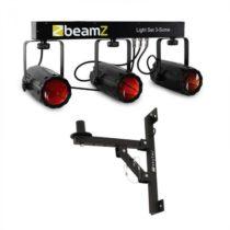Beamz 3-Some, osvetľovací set, 4 časti, LED