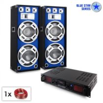 "Electronic-Star PA Set Blue Star Series ""Beatsound Bluetooth MP3"", 1500 W"