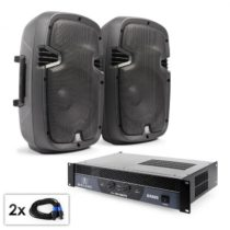 "Electronic-Star PA Set ""SPJ Boom"", dva 8"" reproduktory & 800 W zo..."