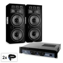 "Electronic-Star PA set série Saphir ""Warm Up Party TX215"", dva 2x38 cm reproduktor..."