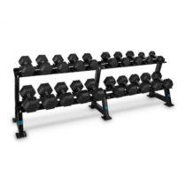 Capital Sports Dumbbell Rack Set, 20 činiek, 10 x pár jednoručných činiek