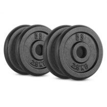 Capital Sports IPB 10 kg Set, sada závaží na činky, 4 x 2,50 kg, 30 mm