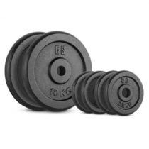 Capital Sports IPB 30 kg Set, sada závaží na činky, 4 x 2,5 kg + 2 x 10 kg, 30 mm