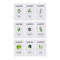 Klarstein GrowIt Seeds, sada semien, 9 balíčkov semien: 3 x Asia, 3 x Europa, 3 x Salad