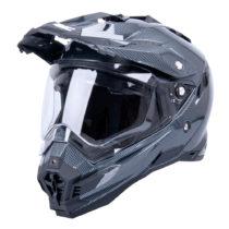 Motokrosová prilba W-TEC AP-885 carbon look