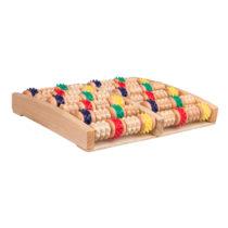 Drevená podložka na masáž nôh inSPORTline Rangkai