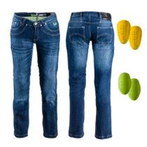 Dámske moto jeansy W-TEC B-2012