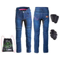 Dámske moto jeansy W-TEC Biterillo Lady