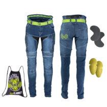 Pánske moto jeansy W-TEC Grandus