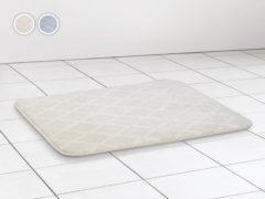 Kúpeľňová predložka Dormeo Aloe Vera 3D, 50x70 cm, béžová