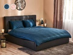Posteľné obliečky Black Diamond Dormeo, 140x200 cm, D.BLUE