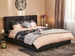 Posteľné obliečky Black Diamond Premium, 140x200 cm, krémová
