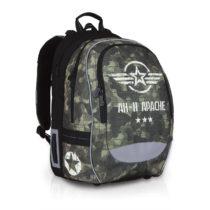 Školská taška Topgal CHI 752 R - Khaki