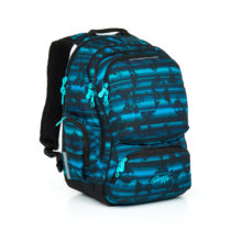 Študentský batoh Topgal HIT 864 D - Blue