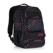Študentský batoh Topgal HIT 884 A - Black