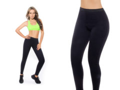 Dlhé nohavice na chudnutie Hot Shapers, 3XL, čierna