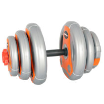 Jednoručný nakladací činkový set inSPORTline 3-18 kg