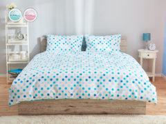 Posteľné obliečky Dormeo Sleep Inspiration, 200x200 cm, koralová