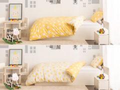 Posteľné obliečky Stella Dormeo, 140x200 cm, 140x200 cm, žltá
