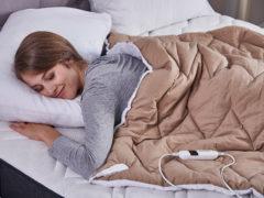 Prikrývka s vyhrievaním Dormeo Warm Hug
